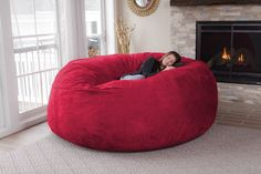 This Ruddy Massive Bean Bag Chair Can Swallow You Whole