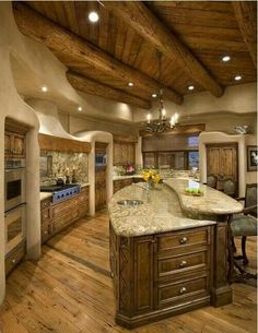 I could live with cooking in this kitchen.