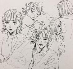 Kpop Drawings, Art Drawings, Pretty Art, Cute Art, Character Art, Character Design, Art Reference Poses, Artist Art, Aesthetic Art