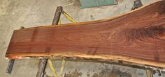 Don't overlook domestic woods-  Some of them can't be matched!  This a gorgeous piece of figured American Black Walnut!