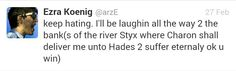 Ezra koenig tweets