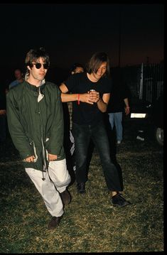 Britpop was at its peak, and the whole gang were there. Including a wasted Liam Gallagher.