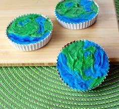 Earth Day peanut butter cups via @spabettie