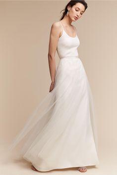 BHLDN Lazio Skirt in  Bride Wedding Dresses   BHLDN