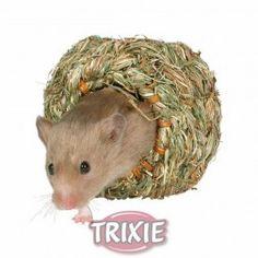 #roedor #snacks #vitaminicos #juguetes #jualas #huron #cobaya #hamster En: www.tiendaonlineparaanimales.com #Nido Trenzado hierbas naturales, ø 10 cm