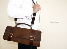 chef leather case by Telavivstreet on Etsy
