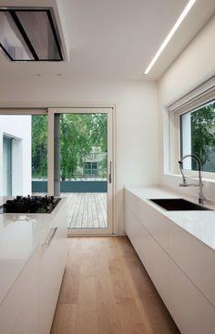 New white bedroom lighting inspiration 28 ideas Küchen Design, House Design, Design Ideas, Modern Kitchen Lighting, Kitchen Modern, White Cupboards, Studio Kitchen, Design Kitchen, Cuisines Design