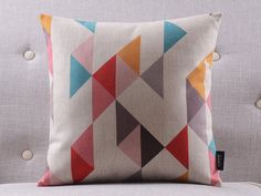 "Multicolor aztec printed cushion cover/pillow case/pillow cover/decorative throw pillows cushion shell 18x18""-home decoration"