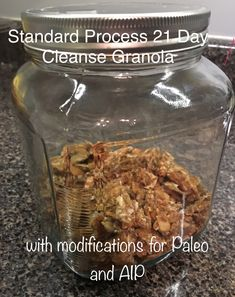 What to eat while on the standard process 21 day cleanse standard process purification program granola recipe with ideas for aip and paleo spoonscleansegranolafresh fandeluxe Image collections