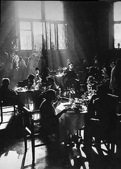 Arkady Shaikhet, Workers' Cafeteria, 1930 | Nailya Alexander Gallery
