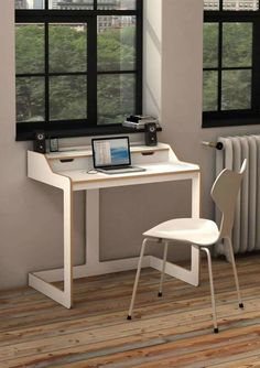 Furniture: Small but Functional Minimalist Computer Desk Designs ...