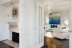 Park Avenue Penthouse :: staging by Quadra FS