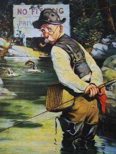 Sauvez le Saumon ! - ©James C. McKell - 1884-1956