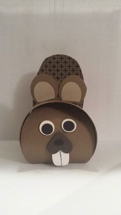 Curvy Keepsake Box. looks like a beaver