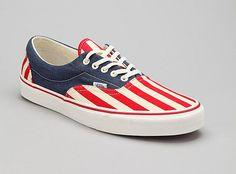Vans American Flag Shoes