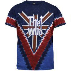 The Who - Long Live Rock Tie Dye T-Shirt | OldGlory.com