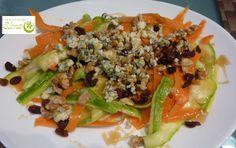 Los Postres de Elena: Linguini de verduras en ensalada. http://www.lospostresdeelena.com/2014/04/linguini-de-verduras-en-ensalada.html