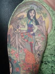 Princess Mulan Tattoo #Tattoo