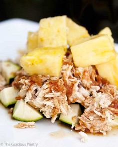 clean-eating-pineapple-slow-cooker-chicken.  Follow my transformation of Facebook. You will get some great recipes, daily fit tips, motivation and some funnies too! https://www.facebook.com/AmberFireFit
