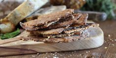 Buckwheat Walnut Flatbread - Maggie Beer, a Barossa Food Tradition Baking With Coconut Flour, Baking Flour, Beer Recipes, Gourmet Recipes, Buckwheat Recipes, Savoury Biscuits, Roasted Fennel, Cooking With Beer, Flatbread Recipes