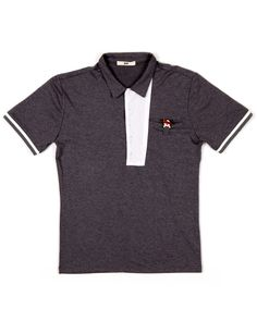 Polo w/ Asymmetrical Placket will add a Spring to your step