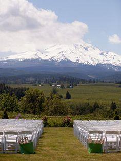 Top Destination Wedding Spots in the World - Destination Wedding Planning Mt. Hood Organic Farms, Mount Hood, Oregon