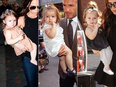 Adorable! See all of Harper Beckham's stylish ensembles from New York Fashion Week.