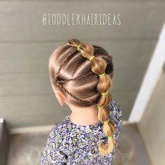 See this Instagram photo by @toddlerhairideas • 516 likes