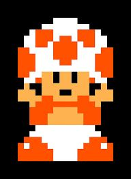 Image result for 8 bit toad