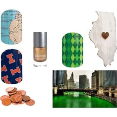 Illinois by glsjams on Polyvore featuring beauty and Slippin' Southern