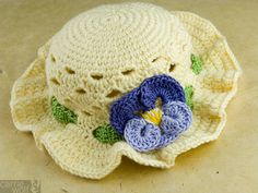 Free Easy Crochet Hat Patterns | ... hat is the exact same one as above except this hat below does not have