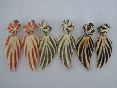Vintage Clip Earrings  3 Pairs Falling by LillysTreasureChest, $27.00