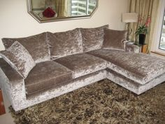 Right hand facing chaise - Freycinet. Open up a space by using a chaise sofa instead of a corner arrangement?