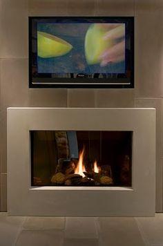 Ethanol Fireplace...exactly what I was thinking
