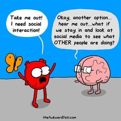 Social interaction - how about social media?