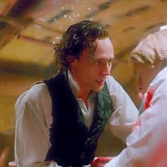 Discover & share this Animated GIF with everyone you know. GIPHY is how you search, share, discover, and create GIFs. Tom Hiddleston Crimson Peak, Tom Hiddleston Loki, Tom Hiddleston Funny Tumblr, Loki Wallpaper, Funny Tom, Thomas Sharpe, Movie Shots, British Boys, Thomas William Hiddleston