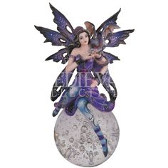 fairy crystal balls | Fairy with Dragon Crystal Ball - 05-91369 by Medieval Collectibles