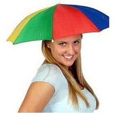 Headwear MultiColor Umbrella Hat Cap Beach Sun Rain Fishing Camping Hunting UAGR    eBay