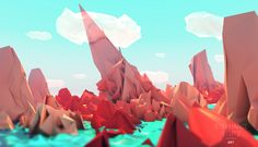 Low Poly Welten