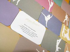 Customizable Unique Business Card for Dance by BudapestWP on Etsy, $26.25