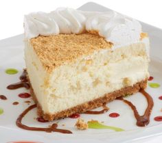 Love #Junior's Key Lime #Cheesecake. Light, creamy, and full of flavor. Sure to be a hit with family and friends!
