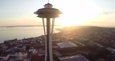 Drone Captures Stunning Images Of Seattle's Space Needle, Ends In Visit From The Cops