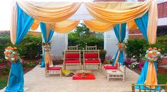 Indian Wedding Decorator Rhode Island is going to work on the areas such as floral designs, table décor and gallery or stage with such a precision that there is much more to the entire set up than a regular theme.