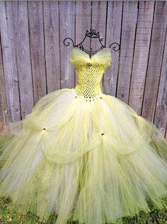 DIY princess belle costume