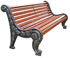 Садово-парковая скамейка Флора