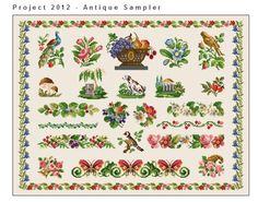 Free antique chart sampler