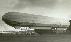 [1913] Spiess Airship / Dirigeable Spiess