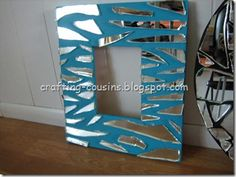 Mirror, Mirror on the Wall Broken Mirror Diy, Broken Mirror Projects, Broken Glass, Mirror Mosaic, Mirror Mirror, Mirror Glass, Mirror Ideas, Mirror Canvas Art, Mosaic Projects