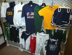 This is a great assortment of brand new Adult and children size clothing.  These are overruns so the clothing is pre-printed with existing logos.  Assortment may include, sweatshirts, t-shirts, jersey's, shimmer shorts, mesh shorts, running shorts, polo shirts and even dresses.  These are all brand new and come in different sizes.  Can not guarantee what sizes or assortment you will receive but it will be a great variety. Only $1.50 each #clothing #sweatshirt #shorts #jersey