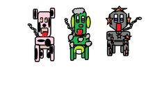 En Marte, es signo de distinción, pasear con mascota y en base a crear necesidades, estos son los primeros modelos.
